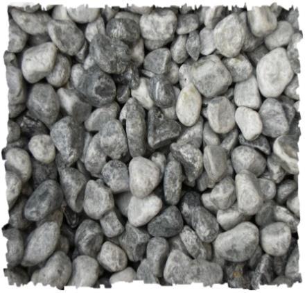 Gravier roul de marbre gris souris bardiglio for Gravier de marbre
